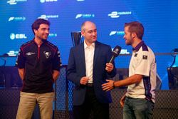 Jérôme D'Ambrosio, Dragon Racing, e Sam Bird, DS Virgin Racing