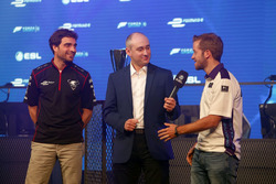 Jérôme D'Ambrosio, Dragon Racing, e Sam Bird, DS Virgin Racing
