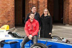 Alejandro Agag, CEO Formula E, Daniel Abt, ABT Schaeffler Audi Sport and Cornelia Yzer, Berlin Senator for Economics, Technology and Research
