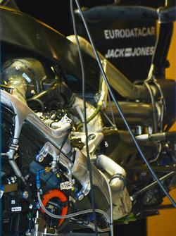 Détail du moteur Renault Sport F1
