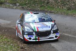 Giorgio Bernardi e Enrico Ghietti, Peugeot 208 R2B, Gliese Engineering Motorsport