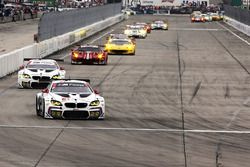 #25 BMW Team RLL BMW M6 GTLM: Bruno Spengler, Bill Auberlen, Dirk Werner