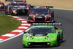 #63 GRT Grasser Racing Team, Lamborghini Huracan GT3: Nicolas Pohler, Mirko Bortolotti