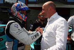 Stefano Comini, Leopard Racing, Volkswagen Golf GTI TCR wit Vincent Vosse