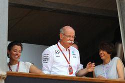 Dr. Dieter Zetsche, CEO de Daimler AG avec sa fille Nora