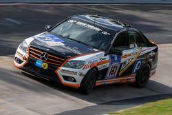 #161 Team Autoarena Motorsport, Mercedes-Benz C 230: Patrick Assenheimer, Marc Marbach, Werner Gusen