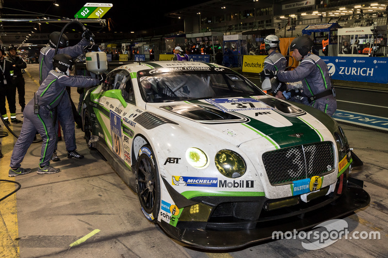 #37 Bentley Team Abt, Bentley Continental GT3: Christopher Brück, Steven Kane, Christer Jöns