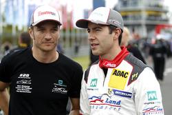 #28 Montaplast by Land Motorsport, Audi R8 LMS: Mike Rockenfeller, Timo Scheider