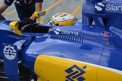 Sauber C35 detail