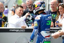 Fausto Gresini et Enea Bastianini, Gresini Racing Team Moto3