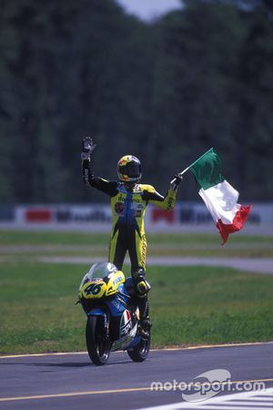 Race winner: Valentino Rossi