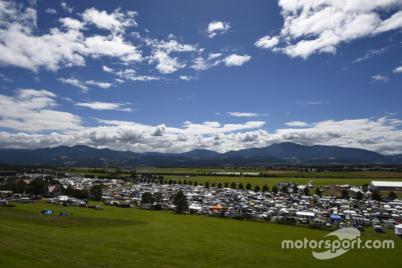 Campeggio, Red Bull Ring