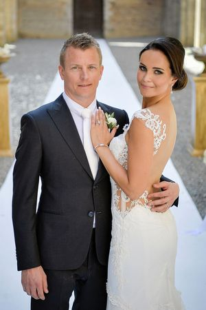 Kimi Raikkonen and Minttu Virtanen marriage photo