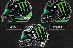As três opções de capacete para Átila Abreu
