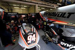 Intact garage
