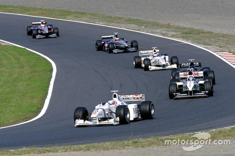1998: Stewart, 12º no campeonato (4 pts)