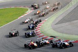Start action, Diego Menchaca, Campos Racing