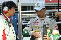 中嶋一貴(Kazuki Nakajima, VANTELIN TEAM TOM'S)