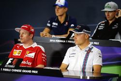 Press conference: Kimi Raikkonen, Ferrari and Valtteri Bottas, Williams