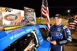 Race winner Justin Haley