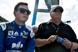 Alex Bowman, Hendrick Motorsports Chevrolet Camaro et Rick Hendrick