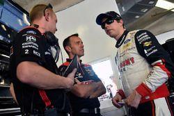 Brad Keselowski, Team Penske Ford Fusion and Paul Wolfe