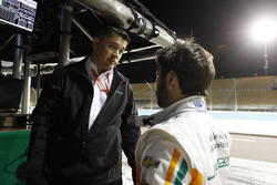 Гонщик Juncos Racing Chevrolet Кайл Кайзер и Рикардо Джанкос