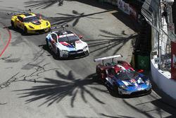 #67 Chip Ganassi Racing Ford GT, GTLM: Ryan Briscoe, Richard Westbrook, #24 BMW Team RLL BMW M8, GTLM: John Edwards, Jesse Krohn, #3 Corvette Racing Chevrolet Corvette C7.R, GTLM: Antonio Garcia, Jan Magnussen