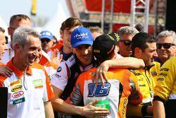 Il vincitore della gara Jules Cluzel, Loris Baz, Althea Racing