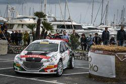 Marco Pollara e Giuseppe Princiotto, Peugeot 208 T16, Peugeot Sport Italia