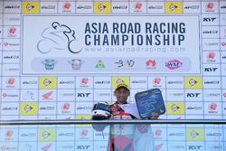 Podium AP250: Rheza Danica, Astra Honda Racing Team