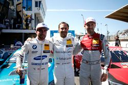 Top 3 Qualifiche: Pole position per Gary Paffett, Mercedes-AMG Team HWA, Philipp Eng, BMW Team RBM, René Rast, Audi Sport Team Rosberg