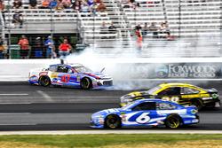 A.J. Allmendinger, JTG Daugherty Racing, Chevrolet Camaro Kroger ClickList, incidente