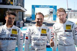 Pole: Gary Paffett, Mercedes-AMG Team HWA, Pascal Wehrlein, Mercedes-AMG Team HWA, Paul Di Resta, Mercedes-AMG Team HWA