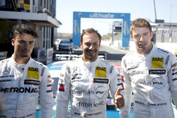 Top 3 after qualifying: Pole position for Gary Paffett, Mercedes-AMG Team HWA, Pascal Wehrlein, Mercedes-AMG Team HWA, Paul Di Resta, Mercedes-AMG Team HWA