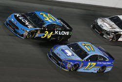 Ricky Stenhouse Jr., Roush Fenway Racing, Ford Fusion Fifth Third Bank Michael McDowell, Front Row Motorsports, Ford Fusion K-LOVE RADIO