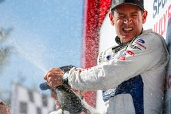 #67 Chip Ganassi Racing Ford GT, GTLM: Ryan Briscoe, Richard Westbrook, Champagne
