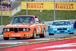 Ники Лауда, BMW 3.0 CSL и Ханс Хайер, Lancia Corse