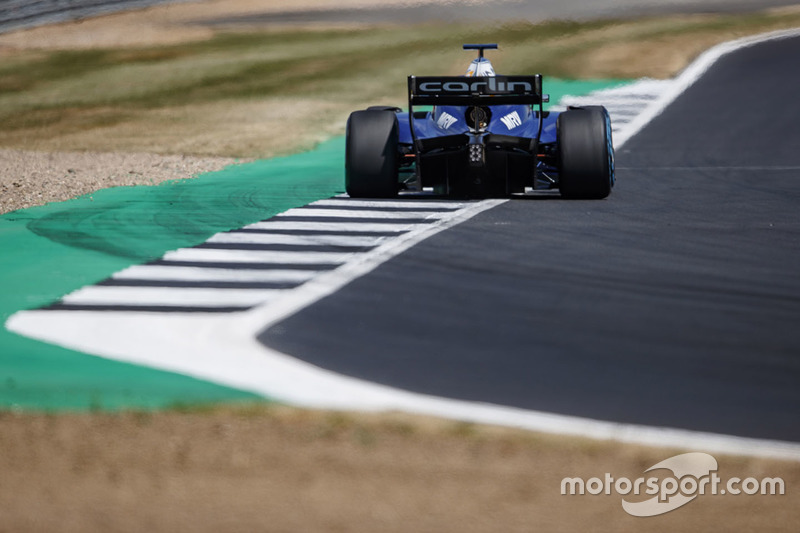 Le moteur de Sérgio Sette Câmara a rendu l'âme alors qu'il jouait la quatrième place