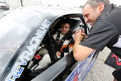 2017 NASCAR Drive for Diversity participant Fabian Welter waits in his car