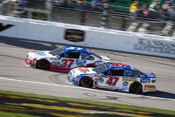 Chris Buescher, JTG Daugherty Racing Chevrolet and A.J. Allmendinger, JTG Daugherty Racing Chevrolet