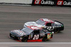 Erik Jones, Joe Gibbs Racing Toyota and Tyler Reddick, Chip Ganassi Racing Chevrolet
