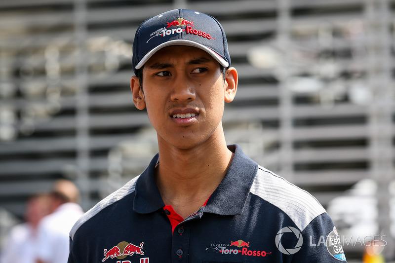 Шон Гелаэль, Scuderia Toro Rosso