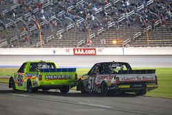 Matt Crafton, ThorSport Racing Toyota, Myatt Snider, Kyle Busch Motorsports Toyota