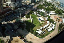 Stadtkurs im Bayfront Park in Miami