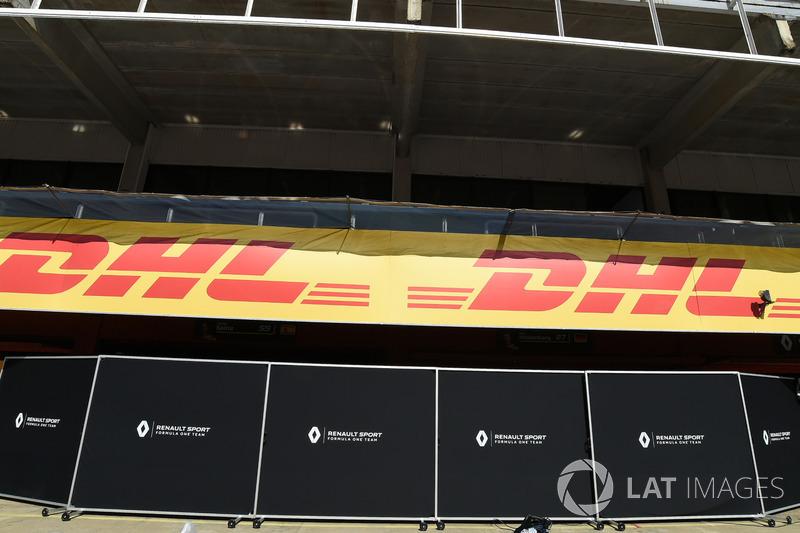 Ширмы Renault Sport F1 Team