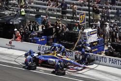 Alexander Rossi, Andretti Autosport Honda, pitstop