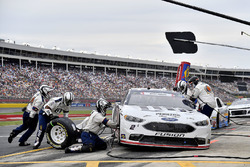 Brad Keselowski, Team Penske, Ford Fusion Stars, Stripes, and Lites