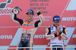 Podio: il vincitore della gara Dani Pedrosa, Repsol Honda Team
