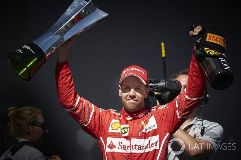 9: Sebastian Vettel, Ferrari